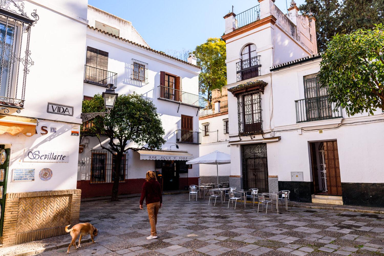 Barriosanta cruz visit tour seville