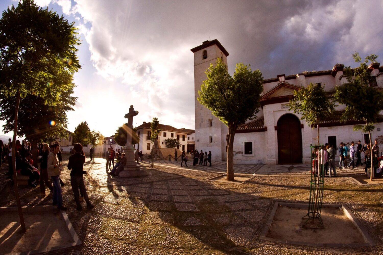 Barrio del Albayzin en Granada