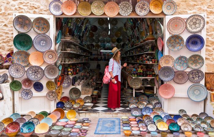 Berber souk Morocco